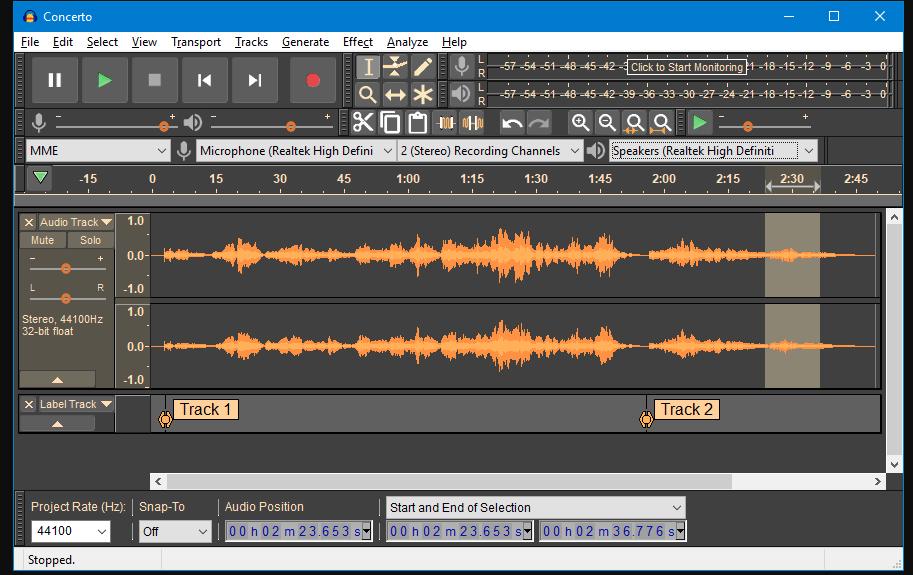 Audio Editor Open Source