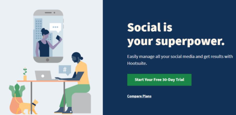 HootSuite tool social media management